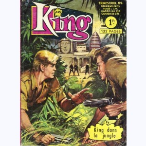 King (2ème Série) : n° 4, King dans la jungle