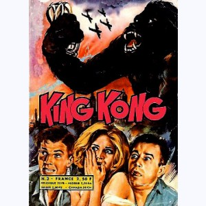 King Kong : n° 3, Le monstre réapparaît