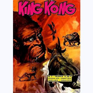 King Kong : n° 7, Le rayon extra-terrestre