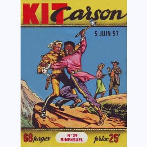 Kit Carson : n° 29, Les kidnappers