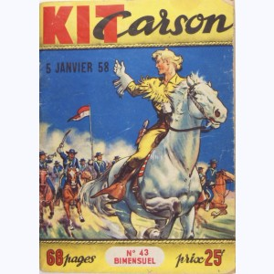 Kit Carson : n° 43, Les chariots d'or