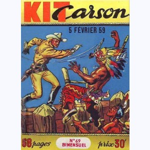 Kit Carson : n° 69, Le secret des marais