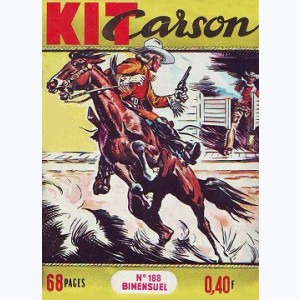 Kit Carson : n° 188, La fille du Commandant
