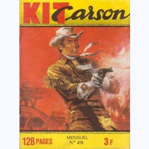Kit Carson : n° 478, La disparition du Docteur John