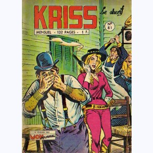 Kriss : n° 81, Calamity Jane : Harper le chacal