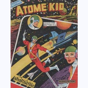 Atome Kid : n° 21, Course interplanétaire
