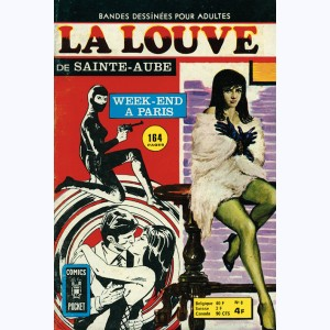 La Louve (3ème Série) : n° 8, Week-end à Paris