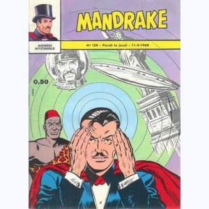Mandrake : n° 159, L'incroyable menace