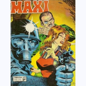 "Maxi : n° 21, Jim HAWK : Projet ""Galaxie"""