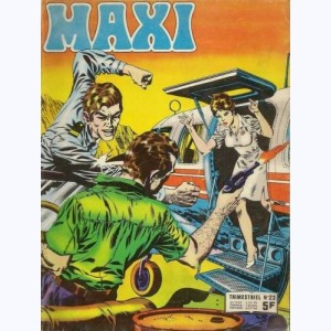 Maxi : n° 23, Jim HAWK : Chat sauvage