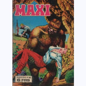 Maxi : n° 41, Jim HAWK : Les chasseresses