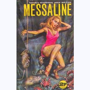 Messaline : n° 4, Le trésor maudit as