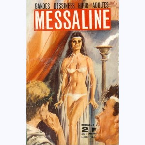 Messaline : n° 5, La dague et la flamme