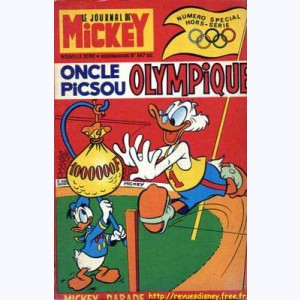 Mickey Parade : n° 9, 0847 : Oncle Picsou olympique