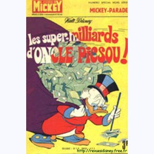 Mickey Parade : n° 14, 0912 : Les super-milliards d'Oncle Picsou