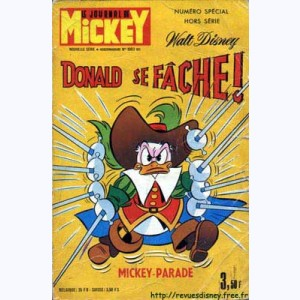 Mickey Parade : n° 21, 1003 : Donald se fâche !