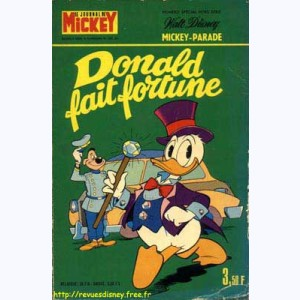 Mickey Parade : n° 28, 1091 : Donald fait fortune