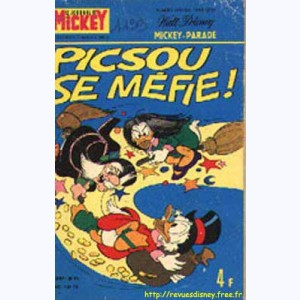Mickey Parade : n° 39, 1199 : Picsou se méfie !
