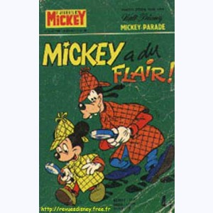 Mickey Parade : n° 44, 1243 : Mickey a du flair !