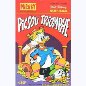 Mickey Parade : n° 48, 1275 : Picsou triomphe