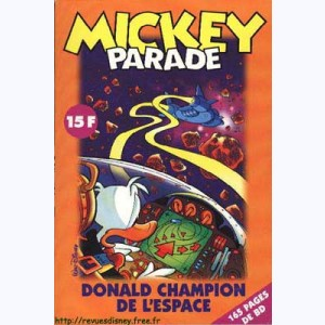 Mickey Parade (2ème Série) : n° 224, Donald : Le grand prix interplanétaire