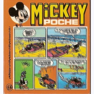 Mickey Poche : n° 41, Donald : On n'est pas plus modeste !