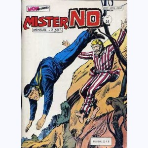 Mister No : n° 24, Le hold-up sauvage