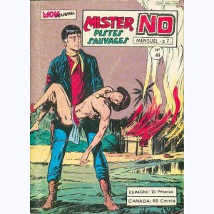 Mister No : n° 44, L'impardonnable crime