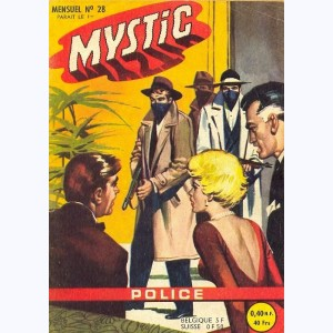 Mystic : n° 28, Fred Houston : Hold-up au Floride Hotel