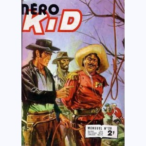 Néro Kid : n° 20, La potence attend