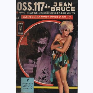 OSS 117 : n° 24, Carte blanche pour O.S.S. 117