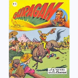 Ouragan : n° 3, Le cheval du grand canyon