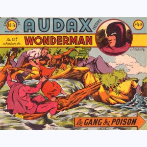 Audax : n° 40, WONDERMAN : 14 Le gang du poison