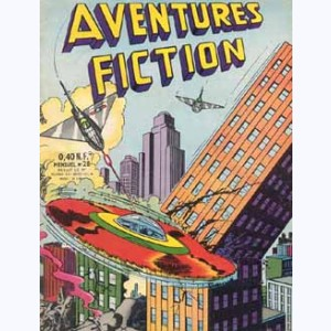 Aventures Fiction : n° 28, Le secret de la scie circulaire volante