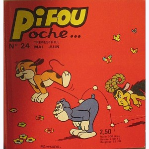 Pifou Poche : n° 24, Chasse aux papillons