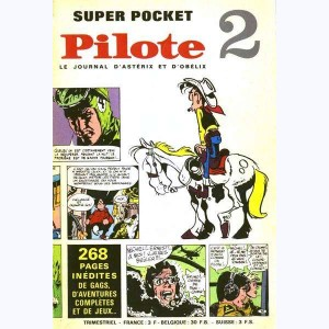 Pilote Super Pocket : n° 2, Lucky Luke : Arpèges dans la vallée