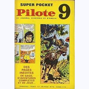 Pilote Super Pocket : n° 9, Blueberry : Double jeu