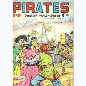 Pirates : n° 14, ERIC Tête Folle : Le secret de l'Inconnue