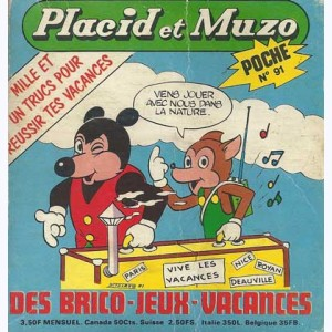 Placid et Muzo Poche : n° 91, Le safari photos