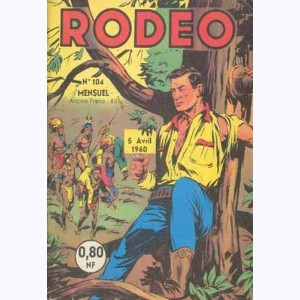 Rodéo : n° 104, MIKI, JACK LONDON, TEX