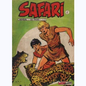 Safari : n° 9, Katanga JOE : Trahison à El Aurida""