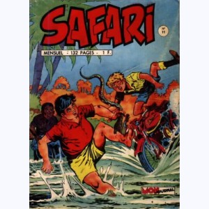 Safari : n° 11, Katanga JOE : La poursuite infernale