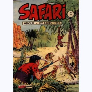 Safari : n° 19, Katanga JOE : Géronimo le rebelle