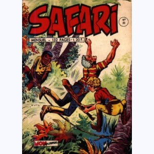 Safari : n° 23, Katanga JOE : Les fruits du Diable