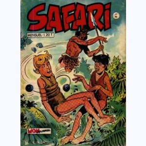 Safari : n° 40, Katanga JOE : Quest-ce qu'on déguste !