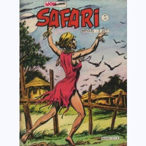 Safari : n° 127, Katanga JOE : L'île aux crocodiles