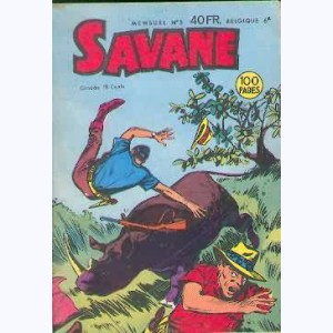 Savane : n° 5, Destination Gwelo