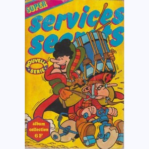 Services Secrets Super (Album) : n° 1, Recueil 1 (01, 02)