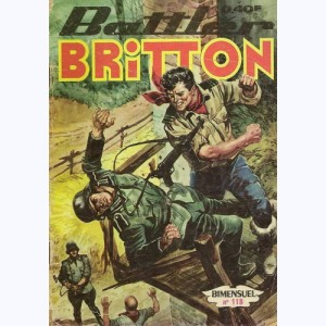 Battler Britton : n° 118, La route de Birmanie