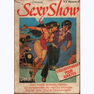 Sexy Show : n° 5, Chang : Mister X